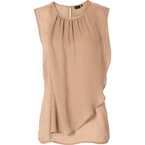 BODYFLIRT Bluse in beige von bonprix