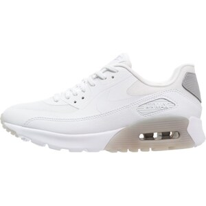 Nike Sportswear AIR MAX 90 ULTRA ESSENTIAL Sneaker low white/wolf grey/metallic silver