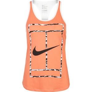Nike Performance HBR Top hot lava/white/black
