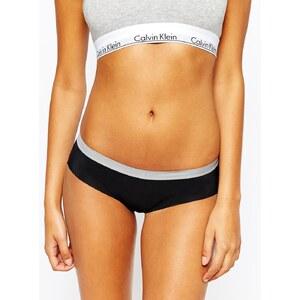 Calvin Klein - Flex Motion - Bikinihose - Farbblockdesign in Schwarz