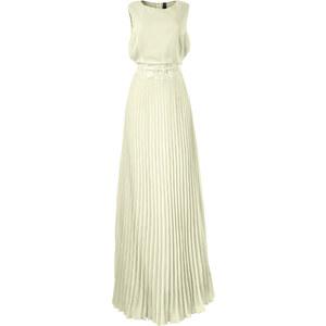 BODYFLIRT boutique Kleid ohne Ärmel in weiß von bonprix