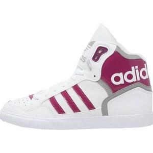adidas Originals EXTABALL Baskets montantes white/berry/solid grey