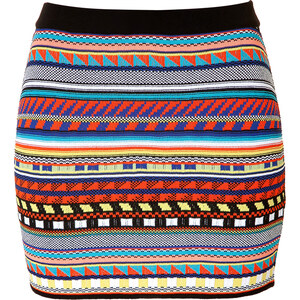 Emilio Pucci Mosaic Print Mini-Skirt