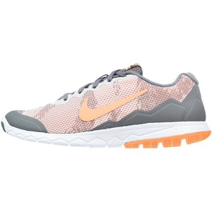 Nike Performance FLEX EXPERIENCE RN 4 Laufschuh Dämpfung cool grey/sunset glow/pure platinum/white