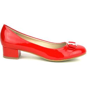 Ballerine vernie rouge ELLA - Cendriyon