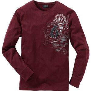 bpc bonprix collection T-shirt manches longues Regular Fit rouge homme - bonprix