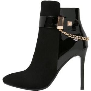 Laura Biagiotti High Heel Stiefelette black