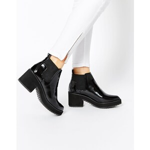 ASOS - RISKY AND FRISKY - Chelsea-Ankle-Boots - Schwarz