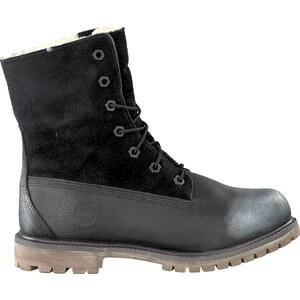 Schwarze Timberland Boots AUTHENTICS TEDDY FLEECE