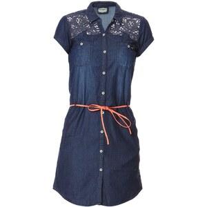 Kaporal Robe chemise - denim bleu