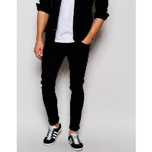 ASOS - Hautenge Jeans - Schwarz
