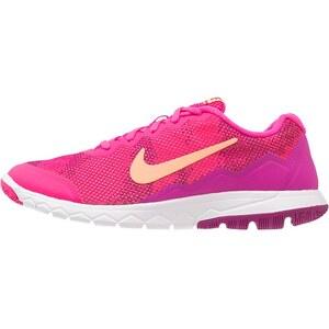 Nike Performance FLEX EXPERIENCE RN 4 Laufschuh Dämpfung pink fluo/sunset glow/fuchsia flash/white