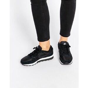 Nike - MD Runner 2 - Sneakers in Schwarz und Weiß - Schwarz