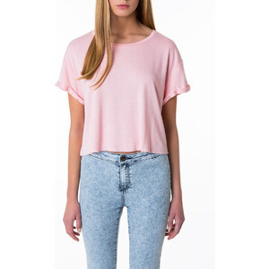 Tally Weijl Rosa Kurz-Shirt