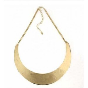 SheInside Gold Moon Mental Collar Chain Necklace