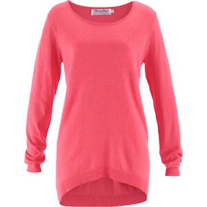 bpc bonprix collection Vokuhila Pullover, Langarm in pink für Damen von bonprix