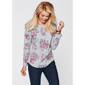 bpc bonprix collection Vokuhila Sweatshirt, Langarm in blau für Damen von bonprix