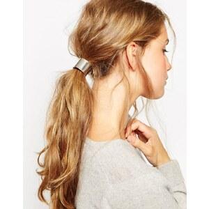 ASOS - Haarband - Silber