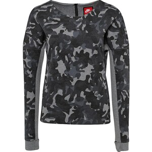 Nike Sportswear Tech Fleece Crew Allover Print Sweatshirt Damen