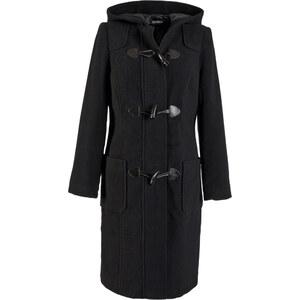 bpc bonprix collection Manteau en laine noir manches longues femme - bonprix