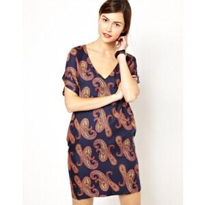 Essentiel Antwerp Dress in Large Paisley Print