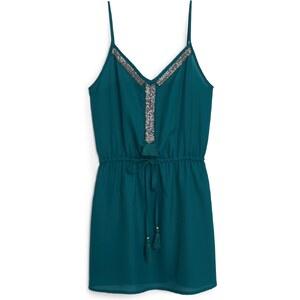 MANGO Mit Perlen Besticktes Kleid