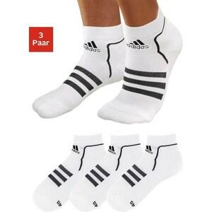 Sport-Füßlinge (3 Paar), adidas Performance, klima- und feutigkeitsregulierend durch Coolmax-Faser