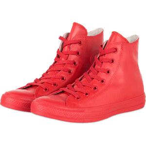 CONVERSE Hightop-Sneaker CHUCK TAYLOR RUBBER rot