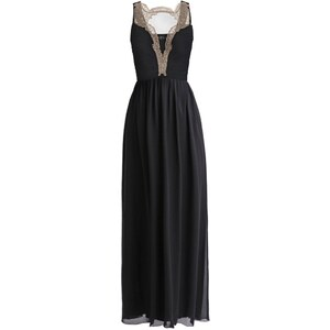 Little Mistress Ballkleid black/gold