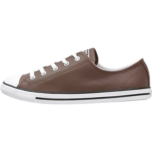 Converse CHUCK TAYLOR ALL STAR DAINTY Sneaker low chocolate/white