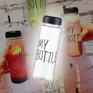 Lesara Wasserflasche mit Tasche 500ml