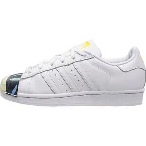 adidas Originals SUPERSTAR PHARRELL SUPERSHELL Sneaker low white/yellow