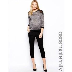 ASOS Maternity 7/8 Twill Trouser