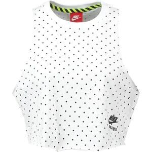 Nike Sportswear RUNNING Top white/black