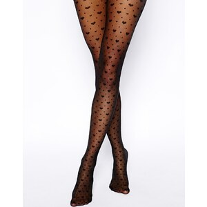 Gipsy Sheer Heart & Spots Tights