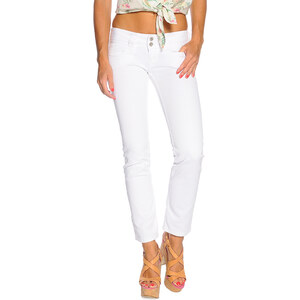 Pepe Jeans Venus Damen 32-32 weiß