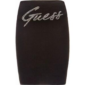 Guess Rhinestones - Bustier - noir