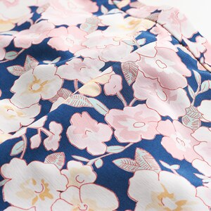Gant Bundfaltenhose mit Blumenmotiv