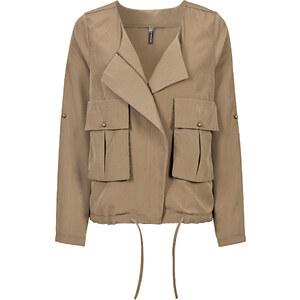 RAINBOW Kurz-Jacke langarm in grün für Damen von bonprix
