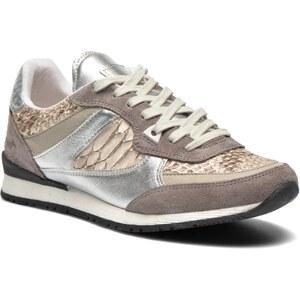 SALE - 37% - Mustang shoes - Egrim - Sneaker für Damen / silber