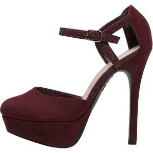 New Look High Heel Pumps deep red