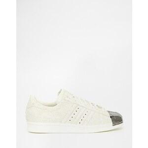 adidas Originals - Superstar - Weiße Sneakers mit Zehenkappe - Weiß