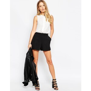 ASOS Tailored - Shorts in A-Linie - Schwarz