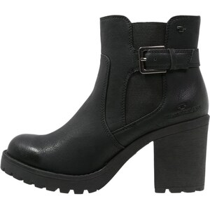 TOM TAILOR High Heel Stiefelette black