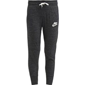 Nike Sportswear GYM VINTAGE Jogginghose noir/blanc