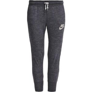 Nike Sportswear GYM VINTAGE Pantalon de survêtement noir/blanc