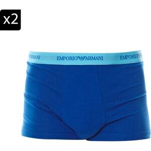 Emporio Armani Underwear Men Lot de 2 boxers - bleu