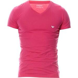 Emporio Armani Underwear Men T-shirt - fuchsia