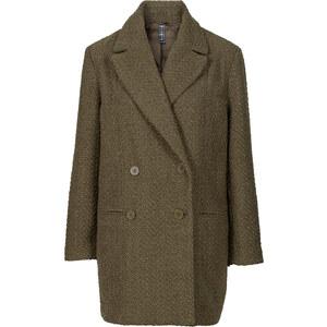 RAINBOW Manteau court oversize vert manches longues femme - bonprix