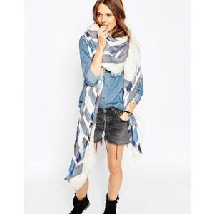 ASOS - Oversize-Schal mit mehreren Streifen